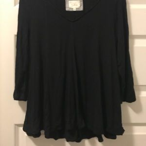 Deletta by Anthropologie 3/4 length tee